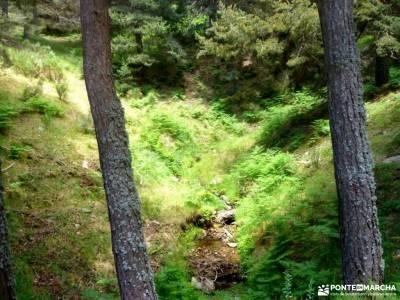 Chorro,Chorrera San Mamés_Valle del Lozoya;villas romanas en españa la chorrera hervas cañon del